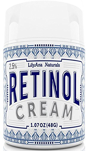 Retinol Cream Moisturizer for Face and Eyes, Use Day and Night - for Anti Aging, Acne, Wrinkles - made with Natural and Organic Ingredients - 1.07 OZ - Restore Day Cream
