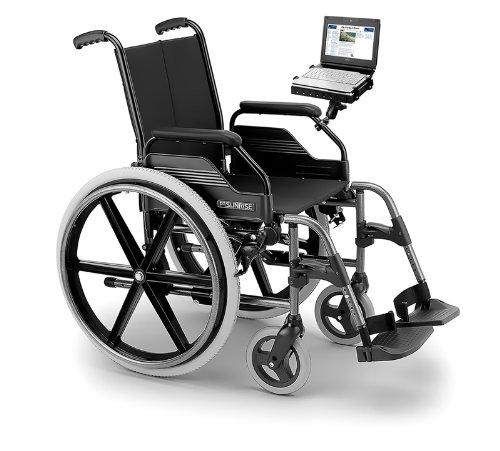 New Heavy Duty robuste Rail support pour fauteuil roulant pour les ordinateurs portables ordinateur portable iPad 1 2 3