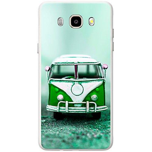Vieux camping-car Coque rigide Téléphone étui à clipser pour Apple Téléphones Mobiles Altes Wohnmobil Grün