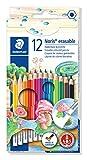 Staedtler 144 50NC12 Noris Club - Lápices de colores acuarelables. Paquete de 12...
