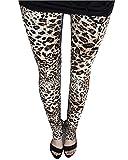 ce9f4494916 Guiran Mujer Leggings Leopardo Estampados Push Up Leggins Jeggings Skinny  Pantalones De Cintura Alta MLeopardo Talla