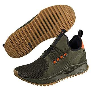 Puma Unisex-Erwachsene Tsugi APEX Winterized Sneaker, Grün (Forest Night-Whisper White Black 02), 43 EU