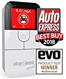 AlcoSense Excel Fuel Cell Breathalyzer Alcohol Tester Breathalyser - Auto Express & EVO Magazine Group Test Winner