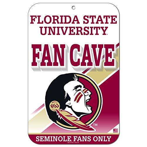 FGCSports 27,9x 43,2cm Fan Cave Straßenschild Florida State University Seminolen -
