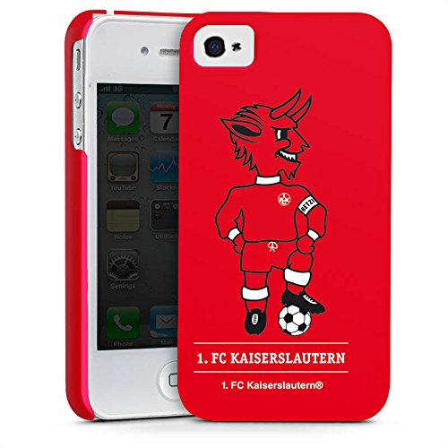 Apple iPhone 7 Plus Silikon Hülle Case Schutzhülle 1. FC Kaiserslautern Fanartikel FCK Fußball Premium Case glänzend