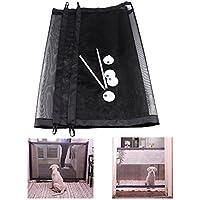 Andy Mr Magic Pet Gate/Pet Caja de Seguridad/Malla de Seguridad e Instalación en Cualquier Lugar de Mascota Perro Caja de Seguridad Puerta Perro Gato