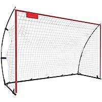 Faltbar Fussballtor Netz für kinder und Erwachsene-Fussballtore für Garten/stadion-indoor und draussen,2 Stil 3 Größen