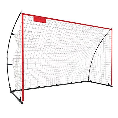 Faltbar Fussballtor Netz für kinder und Erwachsene-Fussballtore für Garten/stadion-indoor und draussen,3 Größen (2.4 x 1.5M)