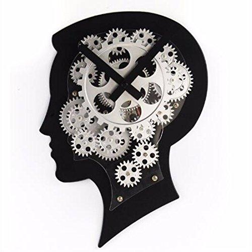 Wanduhr Die Maschine Kopf Dynamisches Modell Des Gehirns Uhr Uhr Uhr Individuelle Geschenke Der Kreative Persönlichkeit