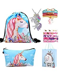 RHCPFOVR Unicorn Gifts for Girls 6 Pack - Zaino con un cordoncino e  unicorno Borsa per f16b42d7ddd