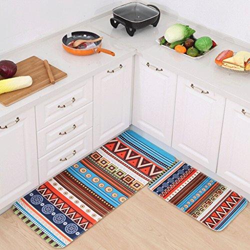 BMKY Felpudos Alfombrillas de puerta Alfombrilla impermeable para baño Alfombrillas de cocina Alfombrillas de puerta ( Tamaño : 60 × 90cm (thick type) )