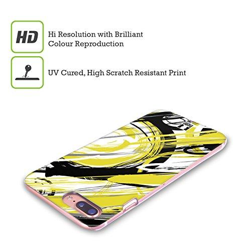 Head Case Designs Marrone Grano Scarabeo Cover Retro Rigida per Apple iPhone X Semplice Giallo
