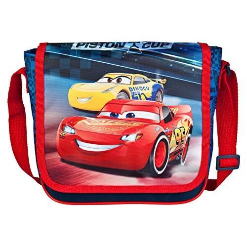 Bolsa Mochila Bolsa de Deporte Disney Pixar Cars 3 Rojo 15