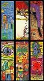 Hundertwasser Lesezeichen-Set A