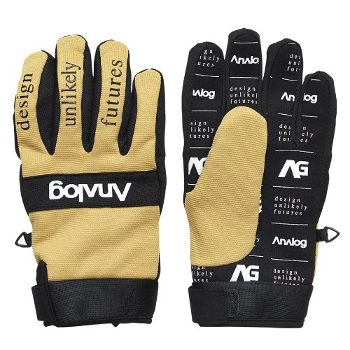 ANALOG Herren Handschuhe AG Avatar Gloves, Gold Rush, XS, 10428100703