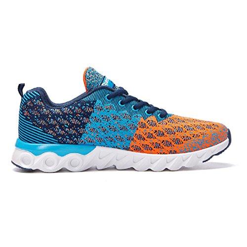 Hommes Chaussures de sport Mode Respirant Entraînement Chaussures de course Chaussures de loisirs Formateurs sky blue 810