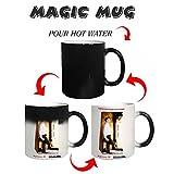 #8: Photuprint Personalised Magic Photo Mug With Caption And Image