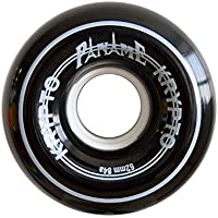 Kryptonics Roller Paname Ruedas, Negro, 62 mm