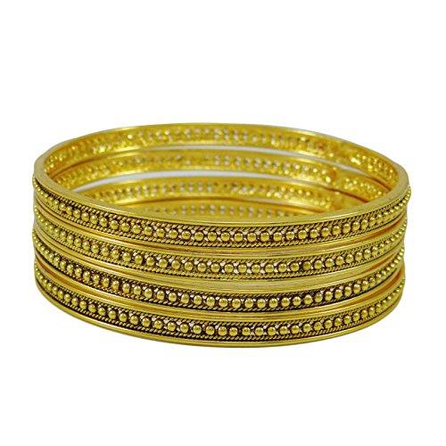 Indian Ethnischen Bollywood Armbänder Goldtone Traditionellen Schmuck Geschenk Für Sie 2 * 6