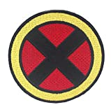 X-Men Patch bordado iron on Badge (3 pulgadas) disfraz Badge apliques diseño Xmen cosplay