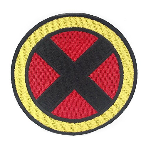Magneto Kostüm - X-Men Patch Embroidered Iron on Badge (7,6 cm) Kostüm Abzeichen Aufnäher Motiv Xmen Cosplay