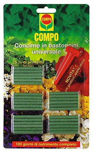 Newsbenessere.com 51eo9N-kCAL Compo 1205012005 Concime In Bastoncini Universale, Verde