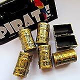 6 Mini-Schatztruhen Pirat