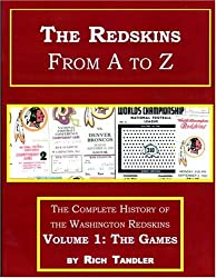 Title: The Redskins From A to Z Volume 1 The Games