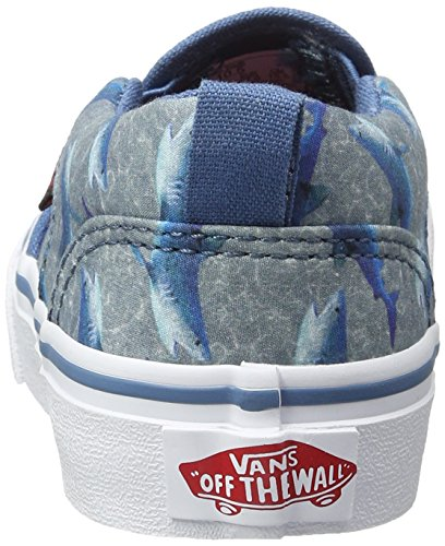 Vans Jungen Yt Asher Sneakers Blau (Sharks)