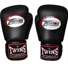 Twins Special Boxhandschuhe BG-N Black - Boxhandschuhe MMA Kickboxen Sparring Muay Thai Leder