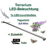 Aquarium-Plüderhausen Terrarium LED-Beleuchtung 30 cm,LED Leuchtbalken,LED Pflanzenlicht,Terra Licht