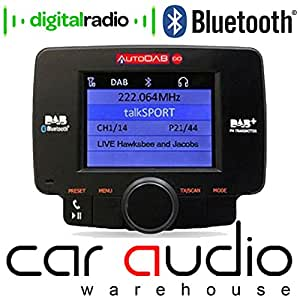 AUTODAB GO Car Stereo (USB, Bluetooth, iPod Control:iPod Plug-In only,)