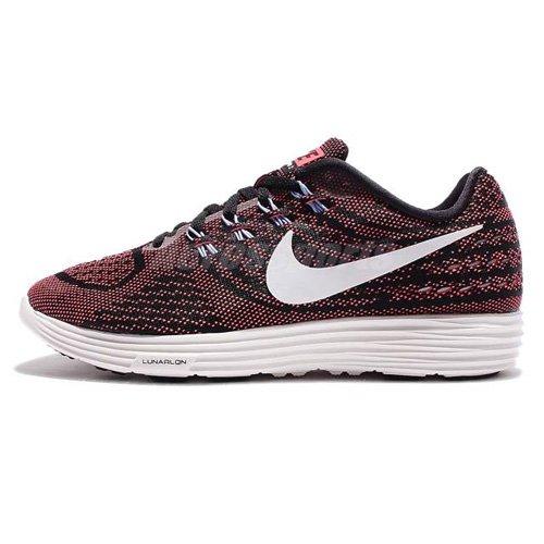 Nike Damen Wmns Lunartempo 2 Laufschuhe, Braun (Black/Hot Punch/Aluminium/Summit White), 37.5 EU (2 Wmns Schuhe Running)