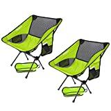 FBSPORT Lightweight Folding Camping/Beach Chair, Compact & Heavy Duty (Supports 330 lbs) Portable