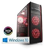 CSL Speed X4988 (Core i7) inkl. Windows 10 - PC-System mit Intel Core i7-8700K 6 x 3700 MHz, 240 GB M.2 SSD, 3000GB SATA, 16 GB DDR4, ASUS Mainboard, GeForce GTX 1080, DVD-W, 7.1 Sound, GigLAN