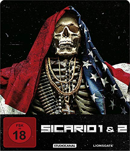 Sicario 1 & 2 / Limited Steelbook Edition / Blu-ray