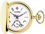 Full Hunter Masonic Pocket Watch Gold Plated with Masonic Icons - Gift Box