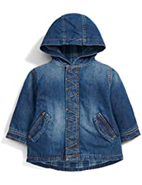 Mamas and Papas Denim Prker, Manteau Bébé Garçon