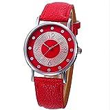 Kingwo Frauen Armbanduhr, Damen Mädchen Casual Uhren Checkers Quarz Analog Armbanduhr Armband (1)
