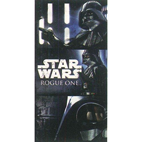 Star Wars Rogue One Velour Strandtuch Badetuch weiß