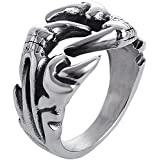 Garra de Águila anillo Anillo único anillo personalizado para los hombres