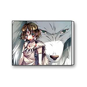 Cartoon Anime Princess Mononoke toile Art 40,6 x 30,5 cm