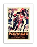 Wee Blue Coo Film Monty Banks Movie Motorcycle sans Limite French Plein GAZ Poster...