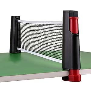 Btsky Retractable Table Tennis Net Portable Replacement