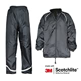 Salzmann 3M Scotchlite imperméable combinaison de pluie, vêtements de pluie, M