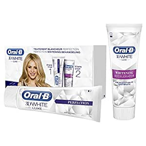 Oral-B 3D White Luxe Perfection Traitement Blancheur - 2x75ml