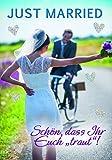 Komma3 Hochzeit Grußkarte Glitter Karte Ehe Schön dass Ihr euch traut 16x11cm