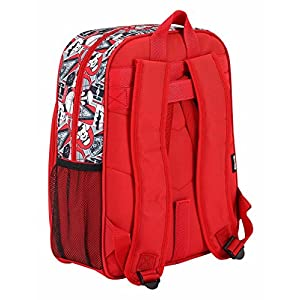 "51eoKAB1IJL. SS300  - Safta Mochila Escolar Junior Star Wars ""Galactic Mission"" Oficial 320x120x380mm"