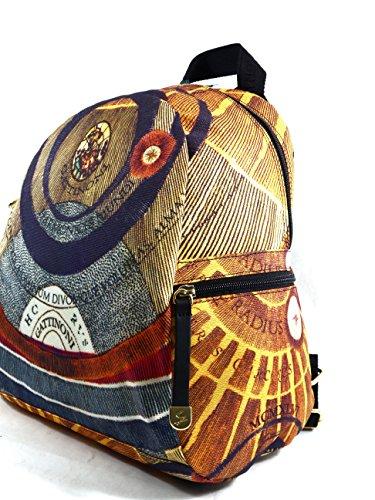 Zaino tessuto | Gattinoni Planetarium Soft | 25 x 31 x 18 cm Multicolore