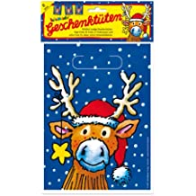 Lutz Mauder Lutz mauder10112reno de Navidad bolsas de botín (8piezas)